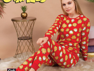 COLOR PAJAMAS SUIT AVAILABLE IN M L XL SIZES
