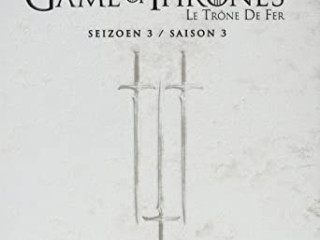A GAME OF THRONES LE TRON OF FER SEZON 3 YENİ 5 X DVD PL