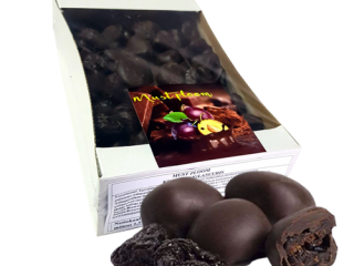 Prunes in confectionery glaze 1 kg